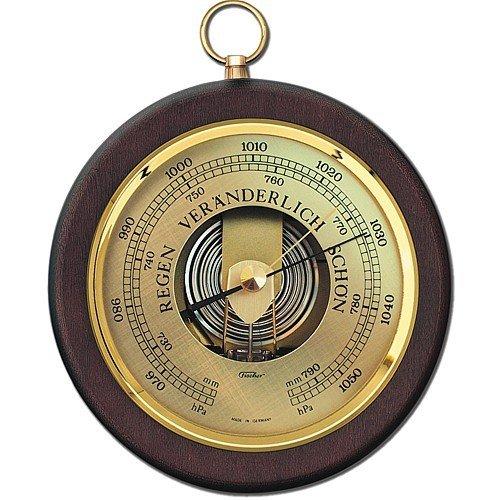 Fischer Barometer Pascal mit Holzgehäuse 170mm Erzgebirge