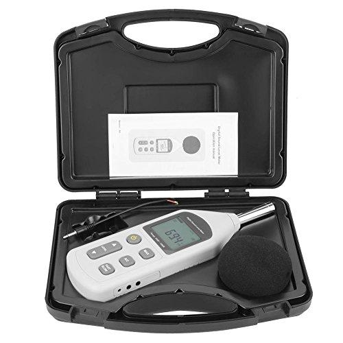 騒音計 デジタルノイズメーター サウンドレベルメーター ノイズ測定器 音量測定 小型 デジタル 30dBA〜130dBA 手持ち