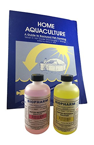 Biopharm pH Buffer Calibration Kit 2-Pack | 8oz Bottle Each | pH 4.00 and pH 7.00 | NIST Traceable Reference Standards for All pH Meters | Color Coded