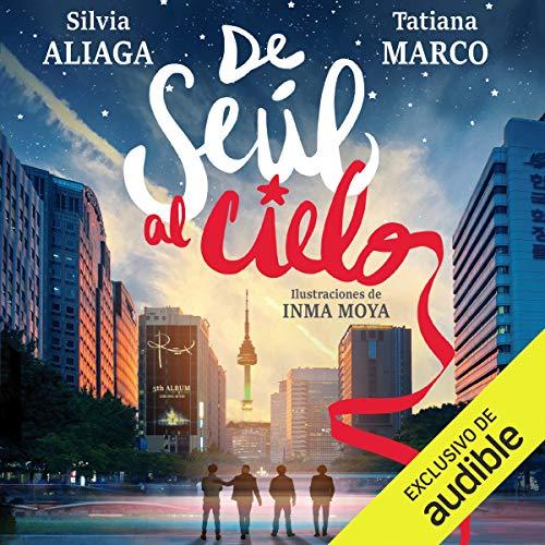 Diseño de la portada del título De Seul al Cielo