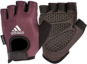 Adidas Unisex Adult Performance Gloves - Purple, One Size