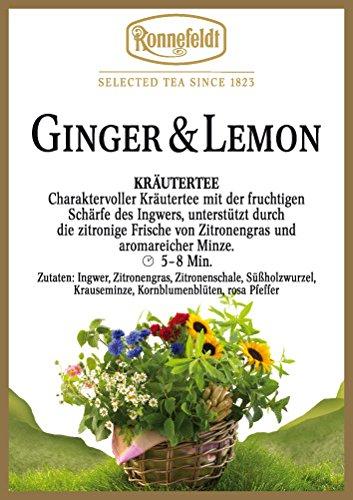 Ronnefeldt - Ginger & Lemon - Kräutertee - 100g