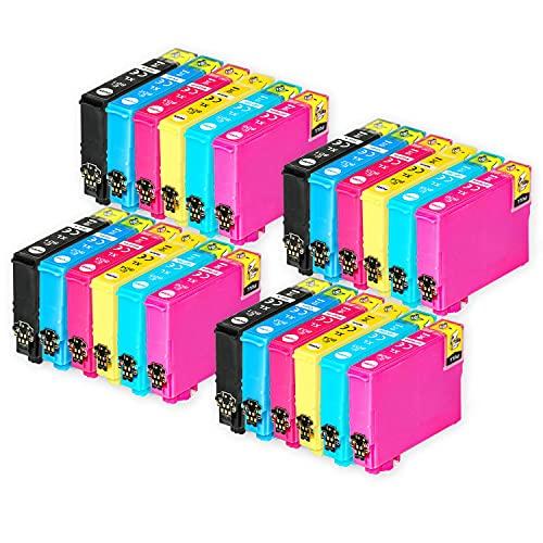 Go Inks Compatible Cartuchos de Tinta para reemplazar Epson T0807 Serie Non-OEM *Nueva versión* (24 Tintas)
