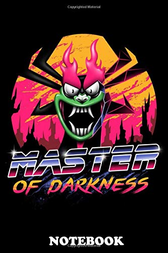"""Notebook: Master Of Darkness , Journal for Writing, College Ruled Size 6"""" x 9"""", 110 Pages"""