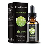 Organic Hemp Oil 2500MG - Natural Plant Extract Hemp Seed Oil with Anxiety, Stress, Arthritis Pain Relief, Promotes Relaxation & Healthy Sleep