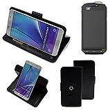 K-S-Trade Handy Hülle Für Cat S60 Flipcase Smartphone