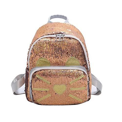 Rucksack Weiblich 2019 Neue Mode Student Rucksack Koreanischen Pailletten Reisetasche 3 23 * 11 * 29Cm