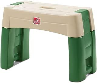 Step2 Garden Kneeler Seat - Durable Plastic Gardening Stool with Kneeling Cushion Pad, Multicolor