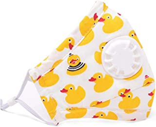 EA-STONE 0-6T Infant Baby Cotton Face Mask,Anti Pollution PM2.5 Mouth Mask Dustproof Respirator With Filters