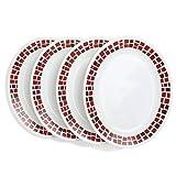 Corellefor Joy Precious Colours Set of Four 9.5' Side Plates