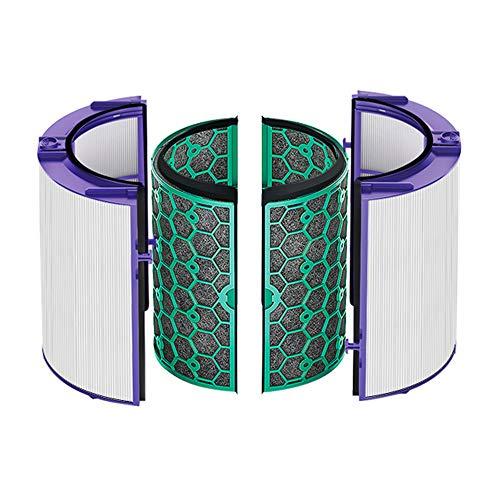 Yintek - Filtro Hepa di ricambio e filtro a carbone attivo, compatibile con Dyson HP04/TP04/DP04 360°