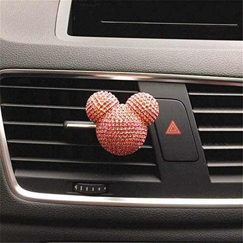 Oneriverspring40 Auto-luchtverfrisser, gepersonaliseerde auto-airconditioning, outlet parfum, interieurdecoratie voor dames, auto, parfum, luchtverfrisser, car styling diffuser U
