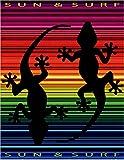 TEXTURAS SUN&SURF Toalla Playa TV 756170x155 Doble