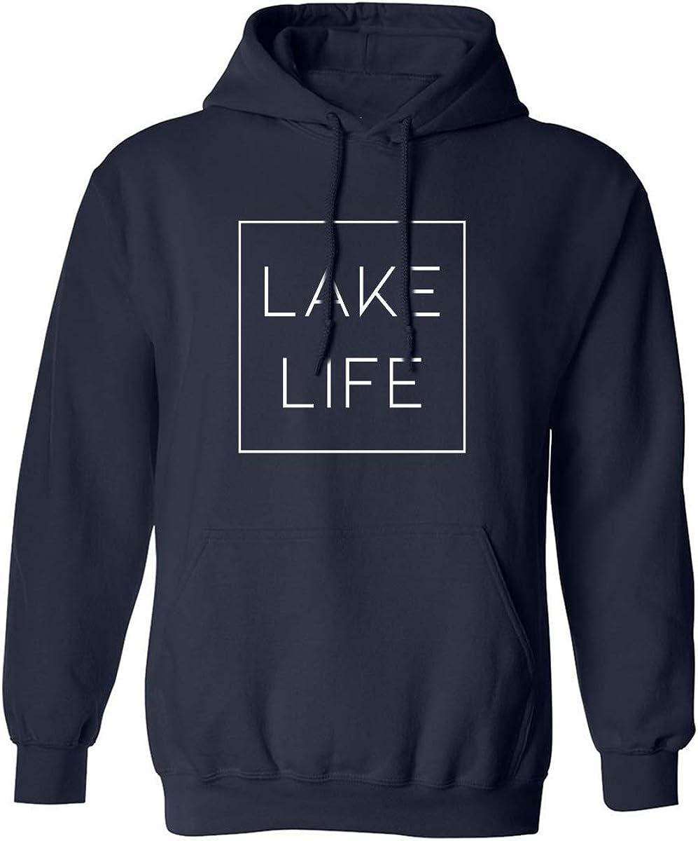 zerogravitee Lake Life Adult Hooded Sweatshirt