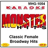Monster Hits Karaoke #1054 - Classic Female Broadway Hits