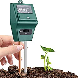 FreshDcart Plant Care New 3 In 1 Water Moisture, Acidity Tester, Light meter