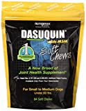 Dasuquin 3PACK Soft Chews for Small to Medium Dogs with MSM (252 Chews)