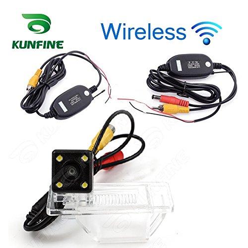 Kunfine HD wireless auto telecamera posteriore per Nissan Qashqai 2008/2010/2011/2012telecamera di retromarcia telecamera di assistenza di parcheggio fotocamera visione notturna LED impermeabile