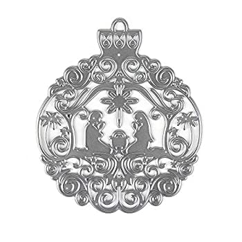 Metal Cutting Dies Pray Background Embossing Stencil Die Cuts for Card Making Scrapbooking Paper Craft Album Stamps DIY Christmas Décor