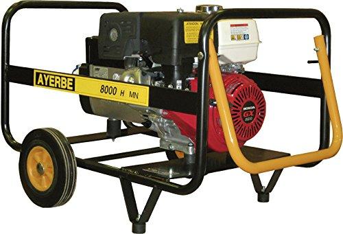 Ayerbe - Generador movil ay8000mn honda gasolina manual