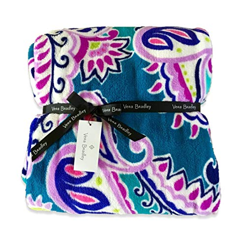 Vera Bradley Throw Blanket, Walikiki Paisley.