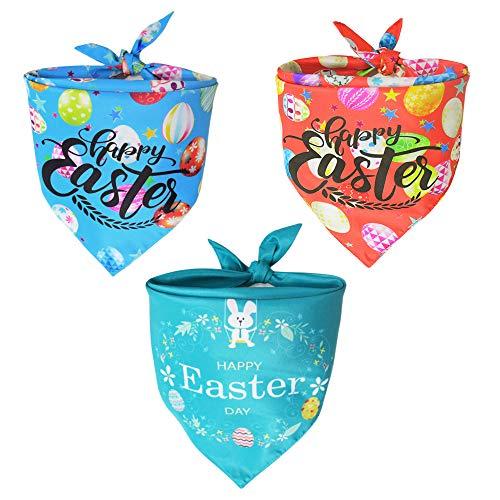 3 Easter Dog Bandanas