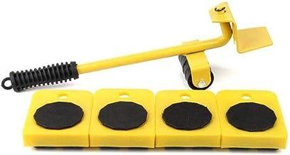 FOOSKOO Meubilair transportgereedschap Set, Meubellift en meubelschuifregelaars Set Zware meubels Roller Move Tools Tot 15...