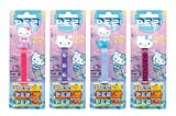 PEZ set de dispensadores Hello Kitty (4 dispensadores con 3 recargas de...