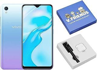 موبايل فيفو واي 1 اس بشريحتين اتصال، 6.22 بوصة، 2 جيجابايت رام، 32 جيجابايت، 4G LTE - لون اوروا بلو