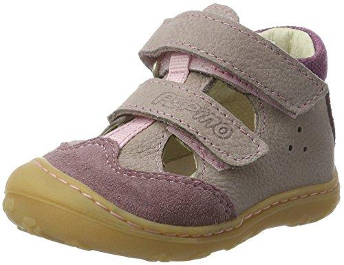 RICOSTA EBI, Chaussures Bébé Marche Garçon, Pink Mauve Sucre, 21 EU