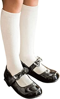 COTTON DAY 3 Pack Boys & Girls School Uniform Cotton Knee High Socks