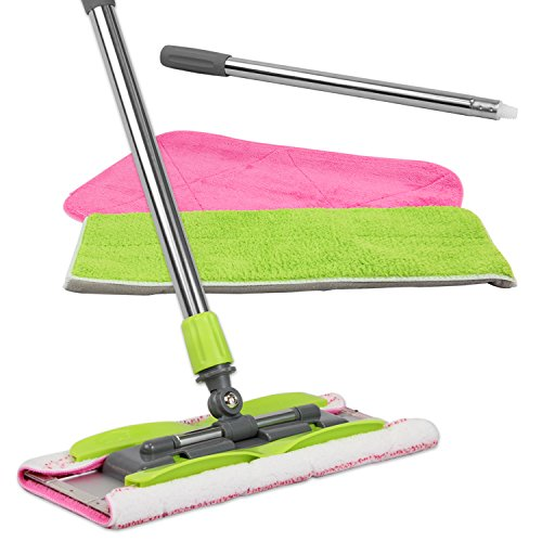 Our #7 Pick is the LINKYO Microfiber Hardwood Floor Mop