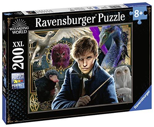 Ravensburger Kinderpuzzle 12611 - Scamanders Fantastische Tierwesen - 200 Teile