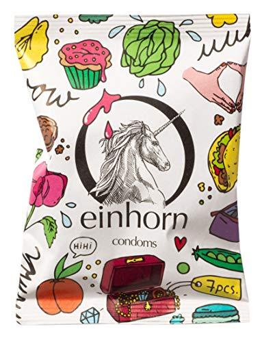 einhorn Kondome 7 Stück Wochenration Design Edition (MUSCHIGEGENSTÄNDE)