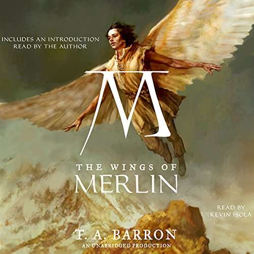 The Wings of Merlin audiobook cover art