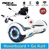 Mega Motion Hoverboard Self Balance Scooter Gyropode électrique 6.5' T580 (Golden)