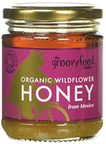 The Groovy Food Company Organic Mexican Wildflower Honey, 340 g