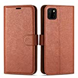 Case Collection Premium Leather Folio Cover for Huawei Y5p