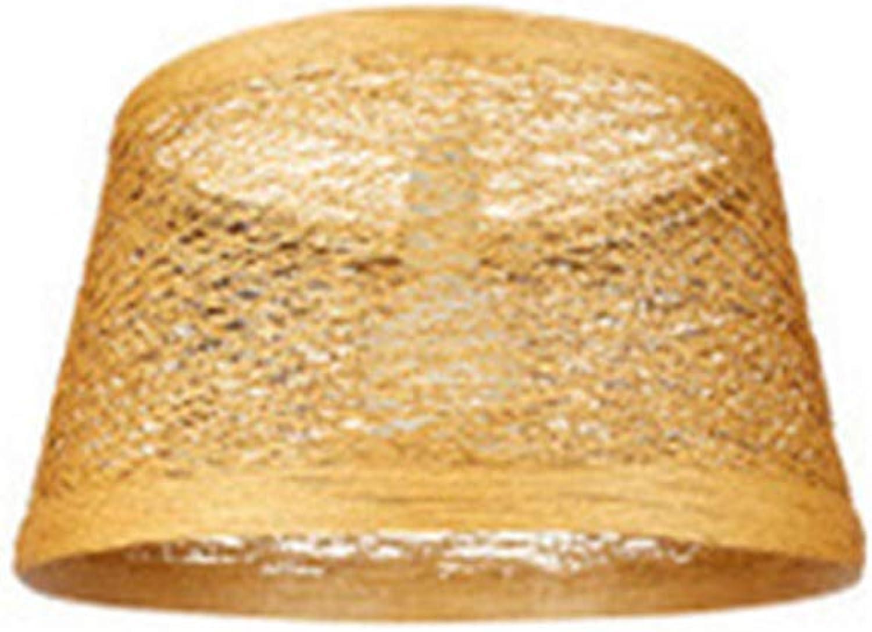Style campagnard en bambou et en rougein de lustre de lustre de rougein pour des restaurants un