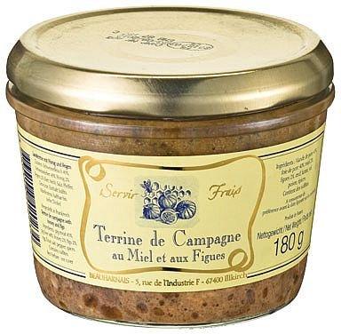 Beauharnais Landterrine mit Honig und Feigen, 180 g