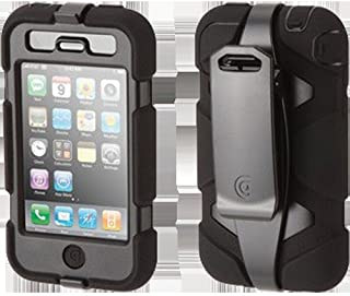 Griffin Black/Black Survivor All-Terrain Heavy Duty Case for iPhone 3G/3GS - Extreme-duty case