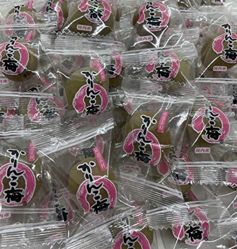 群馬県産【超お徳用】国産カリカリ梅1kg(無着色)/ 常温便