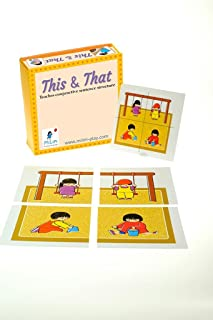Milim Language Flash Cards Game for Kids and Toddlers | a Great Flashcards Game for Ages 2 and Up | Designed by a Speech T...