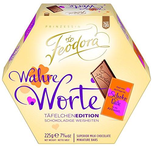 Feodora Wahre Worte Täfelchen, 2er Pack (2 x 225 g)