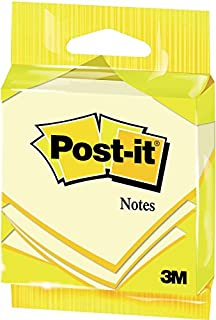 Post-it 6820GB Notes - Canary Yellow - Hangable Flow Packs - 100 Sheets Per Pad - 76 mm x 76 mm