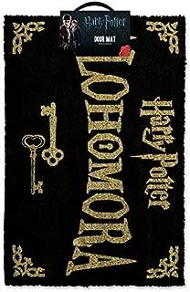 Harry Potter Alohomora Doormat - 100% Coir Rubber Back Door Mat