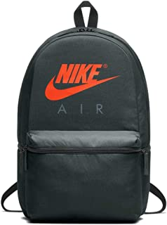Nike Unisex-Adult Backpack, Outdoor Green/Orange - NKBA5777