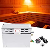 Dry Steam Bath Sauna Heater Stove, Stainless Steel Electric Sauna Steamer Generator TC-135