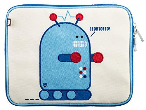 Beatrix Pixel Housse Bleu, Blanc - Étuis pour Tablette (Housse, Apple, iPad, Bleu, Blanc)