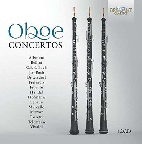 OBOE CONCERTOS: Collection Favourite Oboe Concertos from the Baroque and Clasical Era